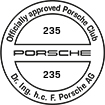 Officially approved Porsche Club 235